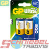 2 x Batteria Alcalina Ultra Plus C, Baby [GP 14AUP]