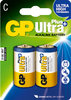 2 x Ultra Plus Alkaline Batterie C, Baby [GP 14AUP]