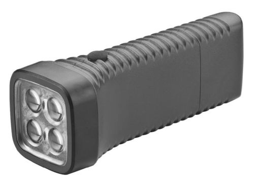 Torche rechargeable Multi LED, noir [AccuLux 413282]