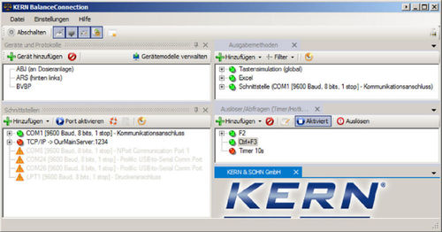 Software Balance Connection [Kern SCD-4.0-PRO]