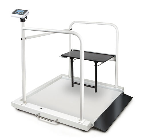 Wheelchair scale with patient seat [Kern MWA 300K-1M + MWA-A04]